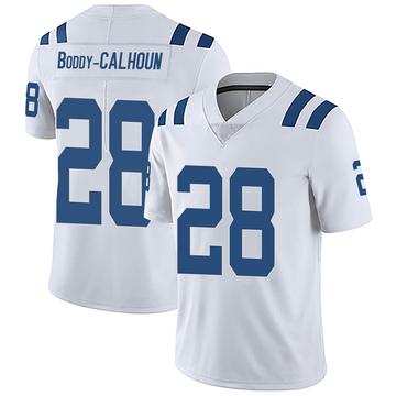 Men's Nike Indianapolis Colts Briean Boddy-Calhoun White Vapor Untouchable Jersey - Limited