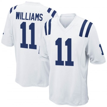 Men's Nike Indianapolis Colts Chad Williams White Jersey - Game