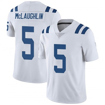 Men's Nike Indianapolis Colts Chase McLaughlin White Vapor Untouchable Jersey - Limited