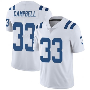 Men's Nike Indianapolis Colts Ibraheim Campbell White Vapor Untouchable Jersey - Limited