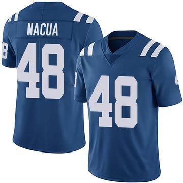 Men's Nike Indianapolis Colts Kai Nacua Royal Team Color Vapor Untouchable Jersey - Limited