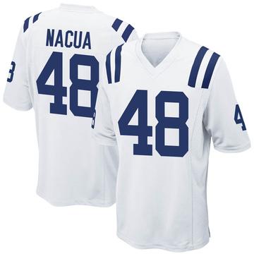 Men's Nike Indianapolis Colts Kai Nacua White Jersey - Game