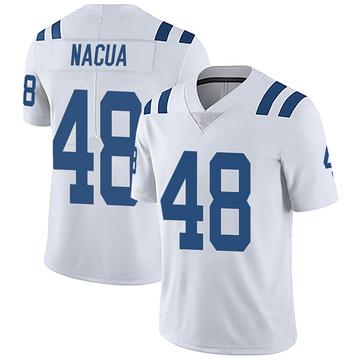 Men's Nike Indianapolis Colts Kai Nacua White Vapor Untouchable Jersey - Limited