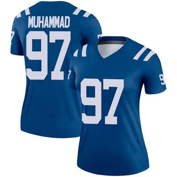 Women's Nike Indianapolis Colts Al-Quadin Muhammad Royal Jersey - Legend