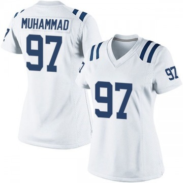 Women's Nike Indianapolis Colts Al-Quadin Muhammad White Jersey - Game
