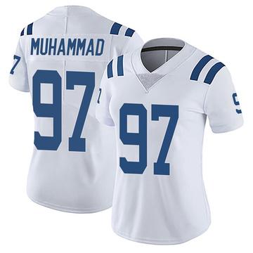 Women's Nike Indianapolis Colts Al-Quadin Muhammad White Vapor Untouchable Jersey - Limited