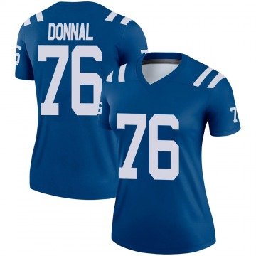 Women's Nike Indianapolis Colts Andrew Donnal Royal Jersey - Legend