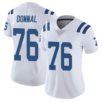 Women's Nike Indianapolis Colts Andrew Donnal White Vapor Untouchable Jersey - Limited