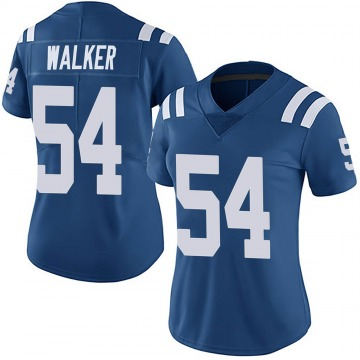 Women's Nike Indianapolis Colts Anthony Walker Royal Team Color Vapor Untouchable Jersey - Limited