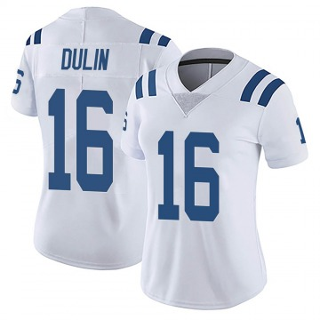 Women's Nike Indianapolis Colts Ashton Dulin White Vapor Untouchable Jersey - Limited