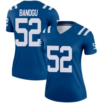Women's Nike Indianapolis Colts Ben Banogu Royal Jersey - Legend