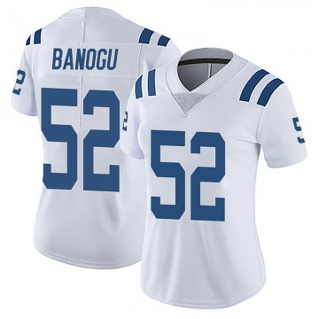 Women's Nike Indianapolis Colts Ben Banogu White Vapor Untouchable Jersey - Limited