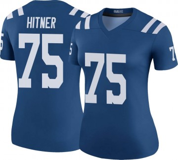 Women's Nike Indianapolis Colts Brandon Hitner Royal Color Rush Jersey - Legend