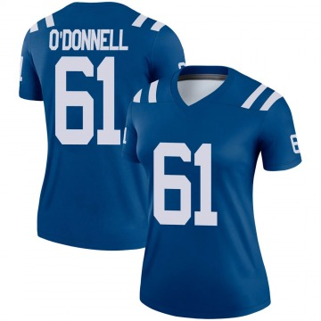 Women's Nike Indianapolis Colts Carter O'Donnell Royal Jersey - Legend