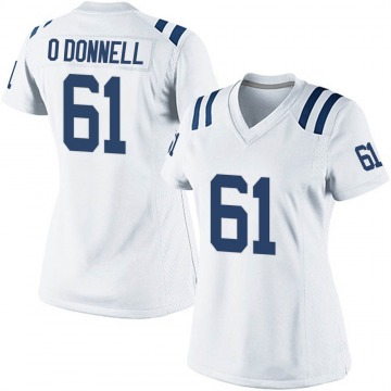 Women's Nike Indianapolis Colts Carter O'Donnell White Jersey - Game