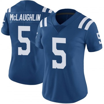 Women's Nike Indianapolis Colts Chase McLaughlin Royal Color Rush Vapor Untouchable Jersey - Limited