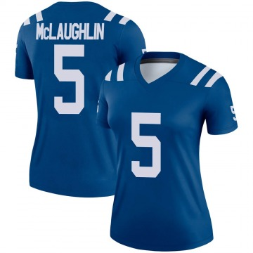Women's Nike Indianapolis Colts Chase McLaughlin Royal Jersey - Legend