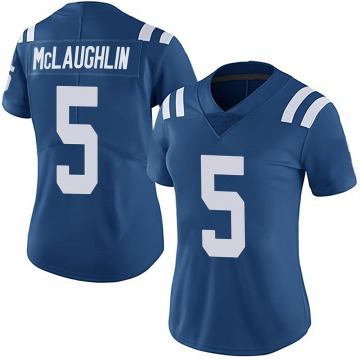 Women's Nike Indianapolis Colts Chase McLaughlin Royal Team Color Vapor Untouchable Jersey - Limited