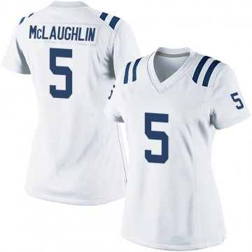 Women's Nike Indianapolis Colts Chase McLaughlin White Jersey - Game