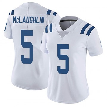 Women's Nike Indianapolis Colts Chase McLaughlin White Vapor Untouchable Jersey - Limited