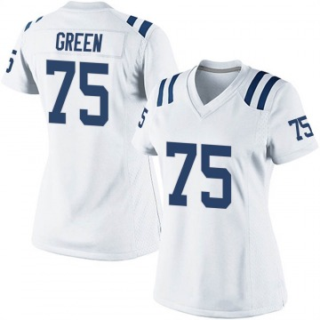 Women's Nike Indianapolis Colts Chaz Green White Jersey - Game