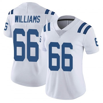 Women's Nike Indianapolis Colts Chris Williams White Vapor Untouchable Jersey - Limited