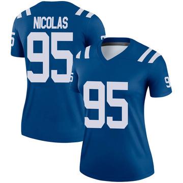 Women's Nike Indianapolis Colts Dadi Nicolas Royal Jersey - Legend