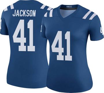 Women's Nike Indianapolis Colts Darius Jackson Royal Color Rush Jersey - Legend