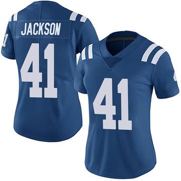 Women's Nike Indianapolis Colts Darius Jackson Royal Team Color Vapor Untouchable Jersey - Limited