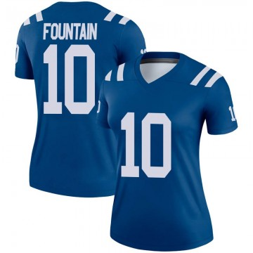 Women's Nike Indianapolis Colts Daurice Fountain Royal Jersey - Legend