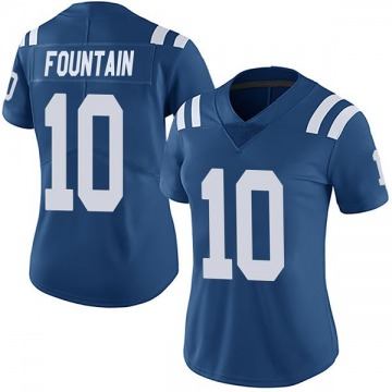 Women's Nike Indianapolis Colts Daurice Fountain Royal Team Color Vapor Untouchable Jersey - Limited