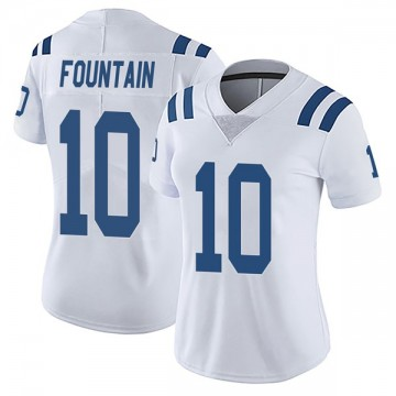 Women's Nike Indianapolis Colts Daurice Fountain White Vapor Untouchable Jersey - Limited
