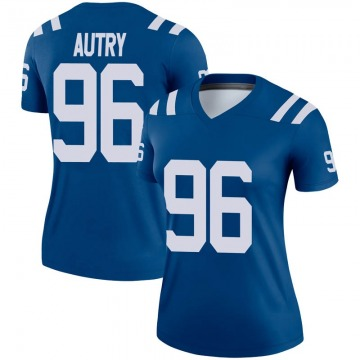 Women's Nike Indianapolis Colts Denico Autry Royal Jersey - Legend