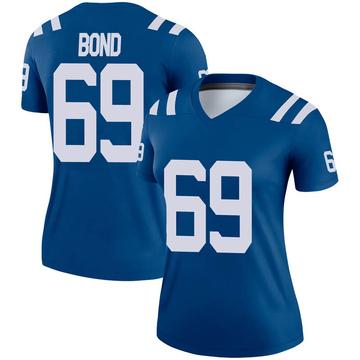 Women's Nike Indianapolis Colts Deyshawn Bond Royal Jersey - Legend