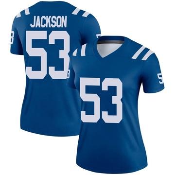 Women's Nike Indianapolis Colts Edwin Jackson Royal Jersey - Legend