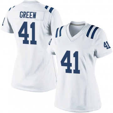 Women's Nike Indianapolis Colts Farrod Green White Jersey - Game