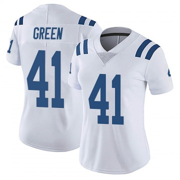 Women's Nike Indianapolis Colts Farrod Green White Vapor Untouchable Jersey - Limited