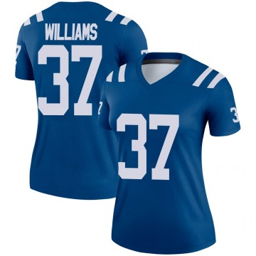 Women's Nike Indianapolis Colts Frankie Williams Royal Jersey - Legend