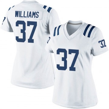 Women's Nike Indianapolis Colts Frankie Williams White Jersey - Game