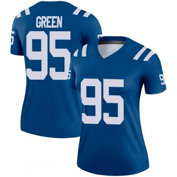 Women's Nike Indianapolis Colts Gerri Green Green Royal Jersey - Legend
