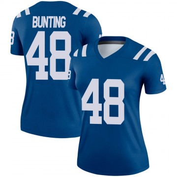 Women's Nike Indianapolis Colts Ian Bunting Royal Jersey - Legend