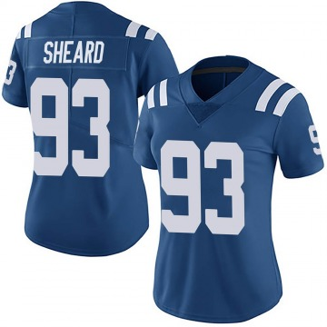 Women's Nike Indianapolis Colts Jabaal Sheard Royal Team Color Vapor Untouchable Jersey - Limited