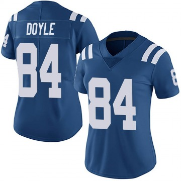 Women's Nike Indianapolis Colts Jack Doyle Royal Team Color Vapor Untouchable Jersey - Limited