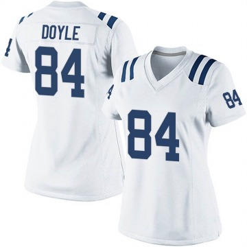Women's Nike Indianapolis Colts Jack Doyle White Jersey - Game