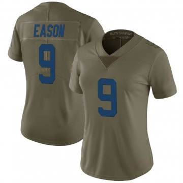Women's Nike Indianapolis Colts Jacob Eason Green 2017 Salute to Service Jersey - Limited