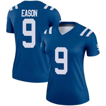 Women's Nike Indianapolis Colts Jacob Eason Royal Jersey - Legend
