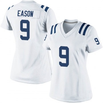Women's Nike Indianapolis Colts Jacob Eason White Jersey - Game
