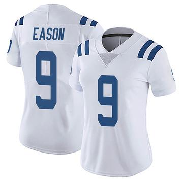 Women's Nike Indianapolis Colts Jacob Eason White Vapor Untouchable Jersey - Limited