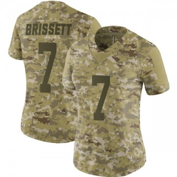 Women's Nike Indianapolis Colts Jacoby Brissett Camo 2018 Salute to Service Jersey - Limited