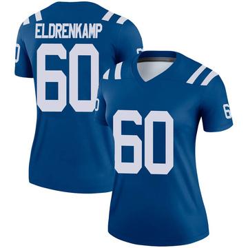 Women's Nike Indianapolis Colts Jake Eldrenkamp Royal Jersey - Legend